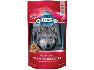 Blue Buffalo 859610005468 WILDERNESS DOG SALMON CHICKEN BISCUIT 10 OZ