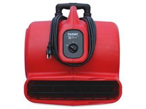 Sanitaire EUKSC6054 Sanitaire Airmover, 3-Speed, 25 ft. Cord, Red