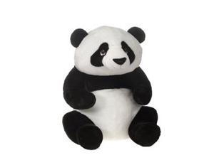 Fiesta Toys A45970- 22 IN. SITTING PANDA WITH PICTURE HANGTAG