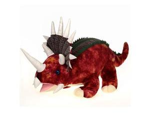 Fiesta Toys A49824- 36 IN. L RED TRICERATOPS WITH SOUND