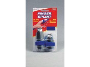 Velcro Finger Splint 2-Pack Fold-Over (1-2  & 1-3 )
