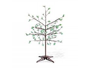Exhart 53582 Anywhere White LED Tree - 90 LEDs with leaves