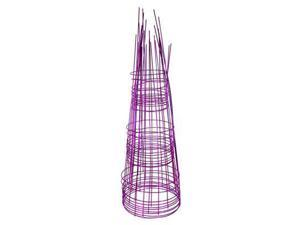 Glamos Wire Products 220300 12x33 Plant Support - Blazin Gemz Amethyst Purple - Pack of 10