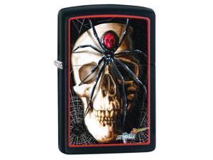 Zippo zippo28627 Zippo Mazzi Black Matte Windproof Lighter