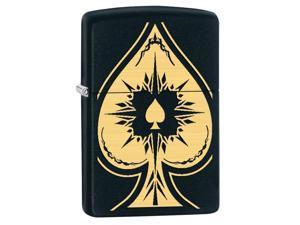 Zippo zippo28662 Zippo Spade Black Matte Windproof Lighter