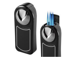 Visol VLR501001 Visol Dobrev V 5 Jet Flame Black Matte Table Lighter