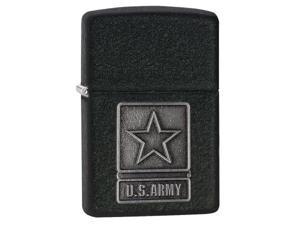 Zippo zippo28583 Zippo 1941 US Army Pewter Emblem black crackle Windproof Lighter