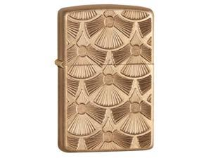 Zippo zippo28541 Zippo Tumbled Brass Armor Windproof Lighter