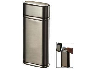 Visol VLR401501 Visol Tendre Satin Gunmetal Finish Coil Flame Lighter
