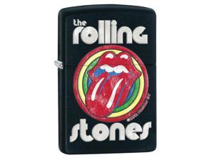 Zippo zippo28630 Zippo Rolling Stones Black Matte Windproof Lighter
