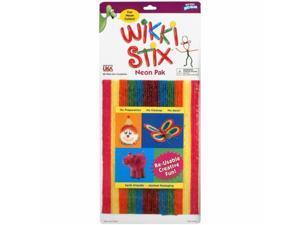 Wikki Stix WIK804 Wikki Stix Assorted Pkg-Neon