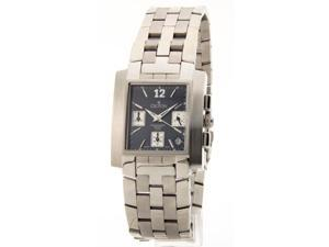 Croton CC311332SSBL Mens Steel Chrono Date New Casual Watch