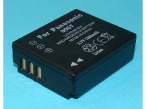 Ultralast CAM-S007 Replacement Panasonic CGA-s007 Digital Camera Battery