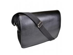 Royce Leather 763-BLACK-2 Kensington Messenger Bag - Black