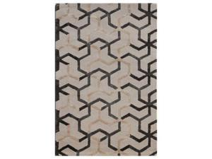 Jaipur Rugs RUG107266 Hand-Tufted Durable Wool- Art Silk Ivory-Gray Rug - BL125