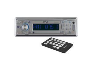 SOUND AROUND-PYLE INDUSTRIES PLCD5MRBTS AM-FM Marine In-Dash Fold Down Detachable Face Radio