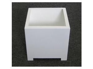 Sunscape SP1L-White Square Planter Box - White - Large