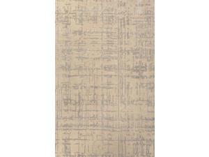 Jaipur Rugs RUG111816 Hand-Tufted Lustrous Finish Wool- Art Silk Taupe-Gray Rug - CLN03