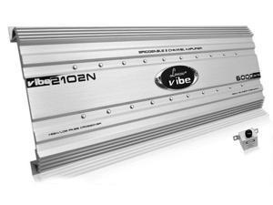 Sound Around-Lanzar Audio VIBE452N 5000W Max 4-Channel Vibe Series Car Amplifier