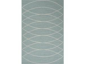 Jaipur Rugs RUG112908 Indoor-Outdoor Durable Polypropylene Blue-Ivory Rug - GD24