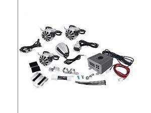 SOUND AROUND-LANZAR AUDIO OPTIMC92 4 Channel 1400 Watts Amplifier and Speaker Combo Kit