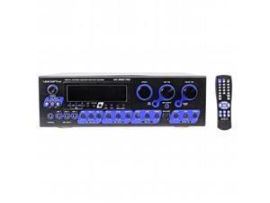 VOCOPRO KRS4 300 Watt Digital Karaoke Amplifier-Mixer with A Pair of 12 in. SV600 3-Way Speakers