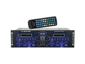 VOCOPRO TWINBANK Pro Multi-format Dual Hard Drive Karaoke Player