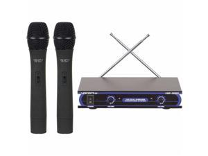 VOCOPRO VHF3005-3 Dual Channel VHF Wireless Microphone System