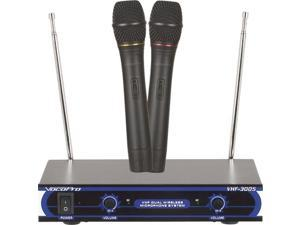 VOCOPRO VHF3005-4 Dual Channel VHF Wireless Microphone System