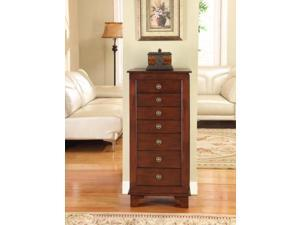 Nathan Direct 1149A Cayman 7 Drawer locking Jewelry Armoire