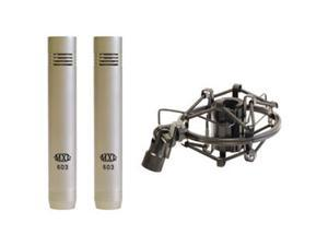 Mxl Mxl-603-Pair Instrument Microphone Pair With Shock Mounts