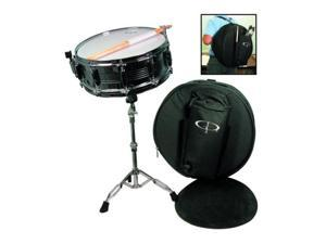 GP Percussion SK22 10 Lug Snare Drum Package Bag Pad