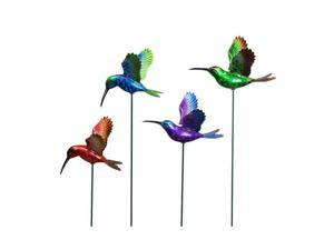 Exhart EX50206 7 in Windy Wings Hummingbird Garden Stake Asst - 1 box contains 24