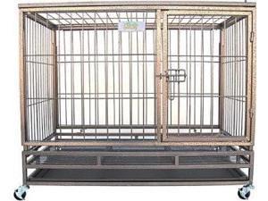 "Go Pet Club 44"" Heavy Duty Steel Crate - SQ1044"