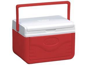 Coleman 765419 Flip Lid 6 Personal Cooler Red