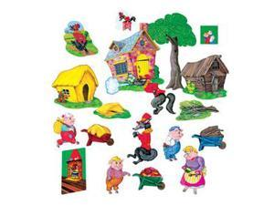 LITTLE FOLKS VISUALS LFV22012 THREE PIGS BASIC PRECUT
