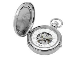 Charles-Hubert- Paris 3850 Mechanical Picture Frame Pocket Watch with Hunter