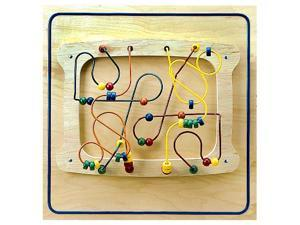 Kids Sculpture Puzzle Maze Games Fun Learning Decorative Wall Panel Activity Toy