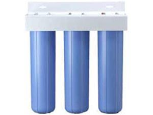 Pentek PENTEK-BBFS-222 Three Big Blue Housing Water Filter System