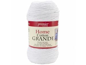 Home Cotton Grande Yarn-Solid-White