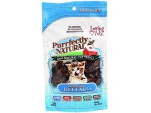 Loving Pet Purrfectly Natural Cat Treats 2 Ounce Buffalo 5260