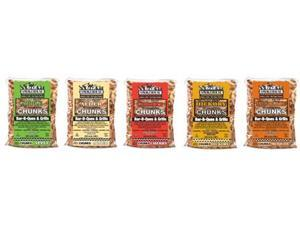 Smokehouse Products 9791-010-0000 Assorted Flavor Chunks, 12-Pack