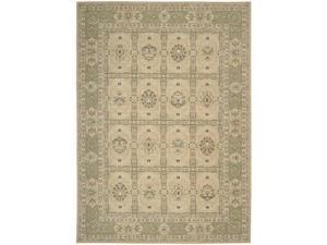 Nourison 25464 Persian Empire Area Rug Collection Sand 5 ft 3 in. x 7 ft 5 in. Rectangle