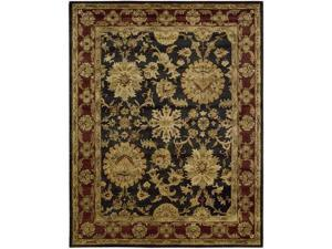 Nourison 49893 Jaipur Area Rug Collection Black 9 ft 6 in. x 13 ft 6 in. Rectangle