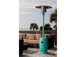 Well Traveled 61130 Aqua Blue Powder Coated Patio Heater