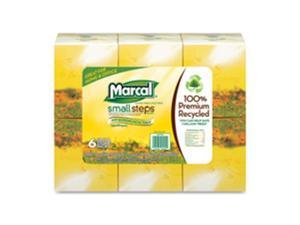 Marcal Paper Mills 4034, Marcal Small Steps Recy 2-ply Cube Facial Tissue, MRC4034, MRC 4034