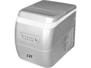 SUNPENTOWN IM-123S Portable Ice Maker in Silver
