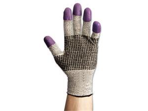 Jackson Safety Brand 97433 G60 Purple Nitrile Gloves, X-Large-Size 10, Black-White, Pair