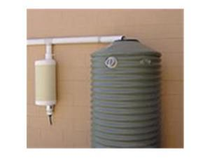 Rain Harvesting WDPW99 Post-Wall-mounted First Flush Water Diverter Kit - includes post - wall brackets