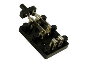 Ginsberg Scientific 7-915 Knife Switch With Screw Type Binding Posts - Double Pole - Double Throw